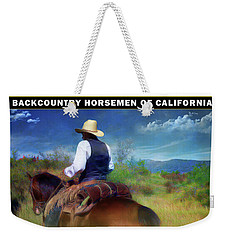 Backcountry Horsemen Join Us Poster Weekender Tote Bag