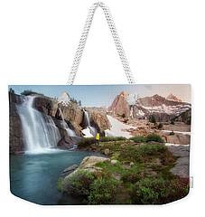 Backcountry Views Weekender Tote Bag by Nicki Frates