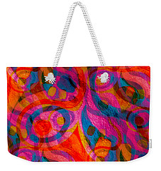 Background Choice Coffee Time Abstract Weekender Tote Bag