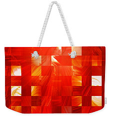Background Heat Weekender Tote Bag