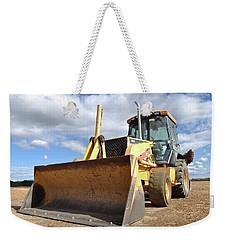 Backhoe Tractor Construction Weekender Tote Bag