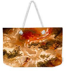 Backlit Agate 2 Weekender Tote Bag