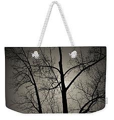 Backlit Trees Weekender Tote Bag