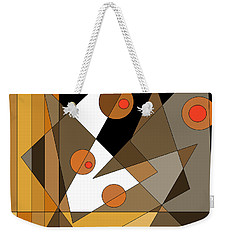Backstage Confusion Weekender Tote Bag