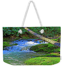 Backwoods Stream Weekender Tote Bag