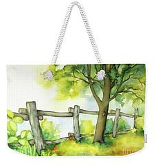 Backyard 1 Weekender Tote Bag by Inese Poga