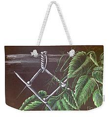 Backyard  Weekender Tote Bag