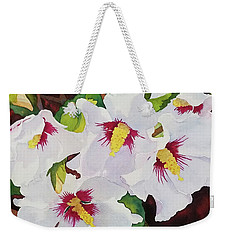 Backyard Blooms Weekender Tote Bag