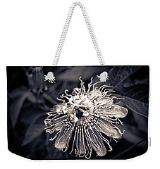 Clematis Flower Bloom Weekender Tote Bag