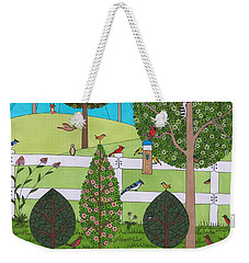 Backyard Gathering Weekender Tote Bag