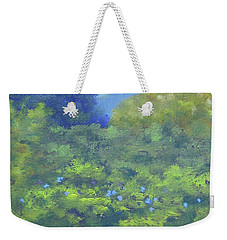 Backyard Mountain Weekender Tote Bag