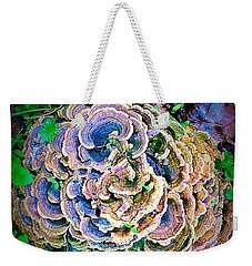 Backyard Mushroom  Weekender Tote Bag