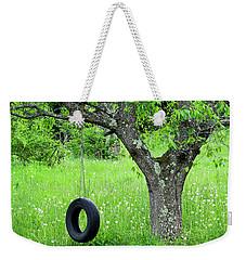 Backyard Spring Swing Weekender Tote Bag
