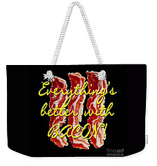 Bacon Weekender Tote Bag