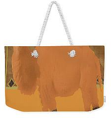 Bactrain Camel Weekender Tote Bag