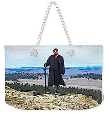 Bad Bear Standing Weekender Tote Bag