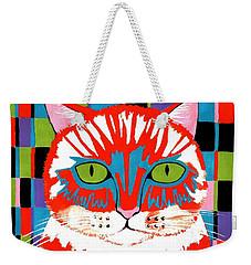 Bad Cattitude Weekender Tote Bag