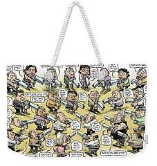 Bad Guys Watch Out Weekender Tote Bag