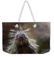 Bad Hairday Weekender Tote Bag
