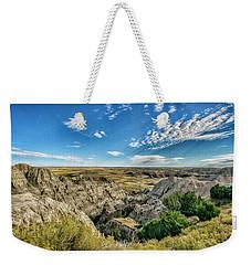 Bad Lands South Dakota.... Weekender Tote Bag
