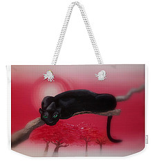 Bad Leopard   Weekender Tote Bag