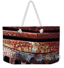 Weekender Tote Bag featuring the photograph Bad Teeth by Christopher McKenzie