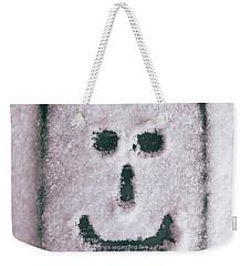 Bad Weather, Good Face Weekender Tote Bag