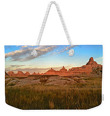 Badlands Evening Glow Weekender Tote Bag