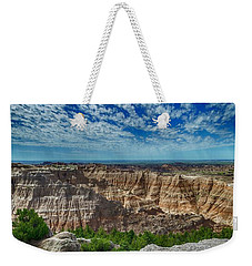 Badlands Landscape Weekender Tote Bag