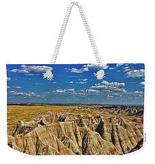 Badlands To Plains Weekender Tote Bag