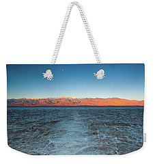 Weekender Tote Bag featuring the photograph Badwater  by Catherine Lau