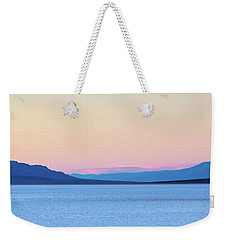 Badwater - Death Valley Weekender Tote Bag by Peter Tellone