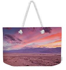 Badwater Sunset Weekender Tote Bag