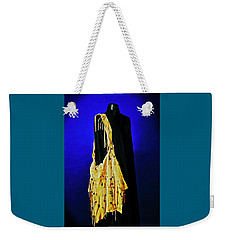 Weekender Tote Bag featuring the photograph Bag Lady by Elf Evans