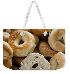 Bagels 1 Weekender Tote Bag