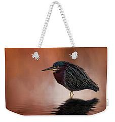 Bah, Humbug Weekender Tote Bag by Cyndy Doty