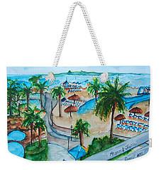 Bahamas Balcony Weekender Tote Bag