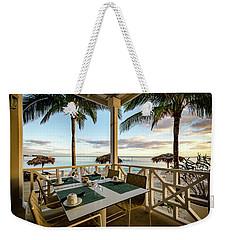 Bahamas Breakfast Spot Weekender Tote Bag