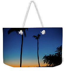 Bahamas Palm Trees In The Early Morning Weekender Tote Bag