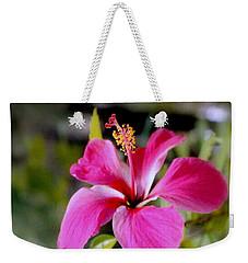 Bahamian Flower Weekender Tote Bag