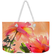 Weekender Tote Bag featuring the photograph Baile Floral by Alfonso Garcia