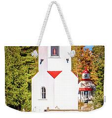 Baileys Harbor Range Light Weekender Tote Bag