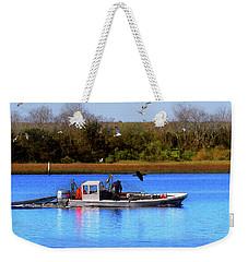 Bait Trawlin' Weekender Tote Bag