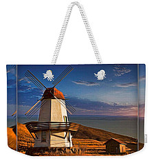 Baker City Windmill_1a Weekender Tote Bag