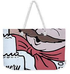 Weekender Tote Bag featuring the photograph Baker by Valerie Reeves
