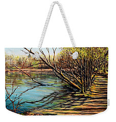Bakers Pond Ipswich Ma Weekender Tote Bag by Eileen Patten Oliver