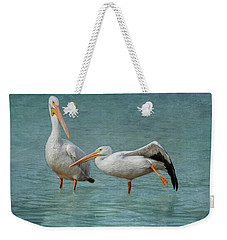 Weekender Tote Bag featuring the photograph Balance by Kim Hojnacki