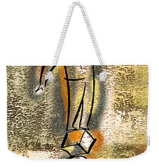 Weekender Tote Bag featuring the painting Balance by Leon Zernitsky