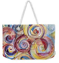 Balanced Awakening Weekender Tote Bag