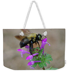 Balanced  Weekender Tote Bag by Dennis Baswell